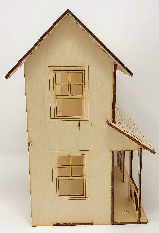 Dainty Diy Dollhouse Kit Hope Houses Workshop